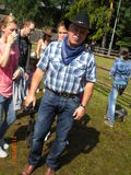 Herbert beim Westernfest